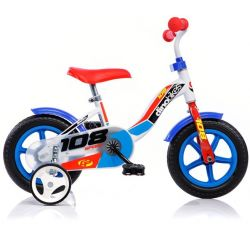 "DINO Bikes - Gyerek bicikli 10"" 108LB - kék 2017"