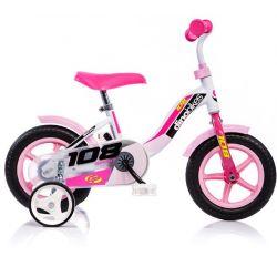 "DINO Bikes - Gyerek bicikli 10"" 108L - rózsaszín 2017"