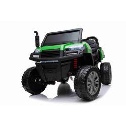 Elektromos Kisautó gyerekeknek Farm RIDER Mezőgazdasági, 4 Kerék Meghajtás, 2x12V akkumulátorral, EVA kerekekkel, széles kétüléses üléssel, lengéscsillapított kerekek, 2,4 GHz távirányítóval, MP3 lejátszó USB / SD bemenettel, Bluetooth