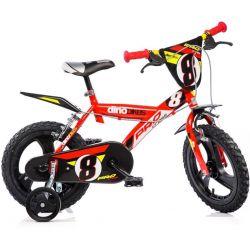"""DINO Bikes - Gyerek bicikli 16"""" 163GLN - piros 2017"""