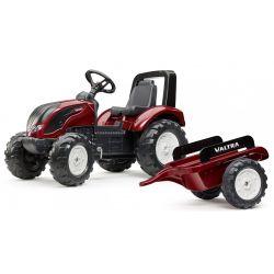 FALK Pedálos traktor 4000 AB VALTRA S4 pótkocsival