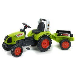 FALK Pedálos traktor 1040AB Claas Arion 430 pótkocsival