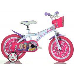 """DINO Bikes - Gyerek bicikli 14"""" 614GBA - Barbie 2018"""