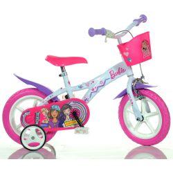 """DINO Bikes - Gyerek bicikli 12"""" 612GLBA - Barbie 2018"""