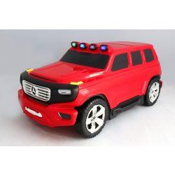 Gyermek gurulós bőrönd és futóbicikli egyben Mercedes-Benz Ener-G-Force piros
