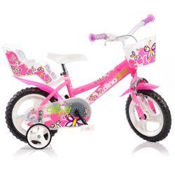 """DINO Bikes - Gyerek bicikli 12"""" 126RL - rózsaszín 2017"""