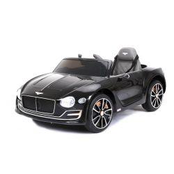 Elektromos kisautó Bentley EXP12, 12V, 2,4 GHz távirányító, felfelé nyitható ajtók, EVA kerekek, bőr ülés, 2 X MOTOR, fekete, Eredeti Liszensz