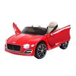 Elektromos kisautó Bentley EXP12, 12V, 2,4 GHz távirányító, felfelé nyitható ajtók, EVA kerekek, bőr ülés, 2 X MOTOR, piros lakkozott, Eredeti Liszensz