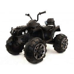 HERO 12V elektromos quad, puha EVA kerekek, 2,4 GHz távirányító, műbőr ülés, lengéscsillapított, 12V7Ah akkumulátor