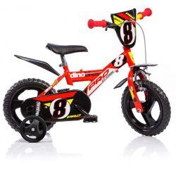 """DINO Bikes - Gyerek bicikli 12"""" 123GLN - piros 2017"""