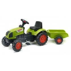 FALK Pedálos traktor 2040A Claas Arion pótkocsival
