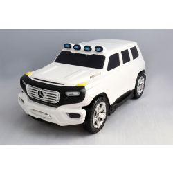 Gyermek gurulós bőrönd és futóbicikli egyben Mercedes-Benz Ener-G-Force fehér